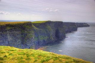 cliffs of moher | by twicepix