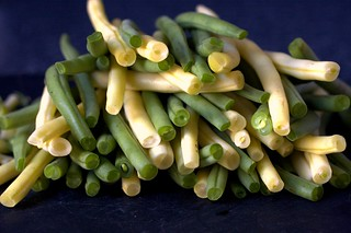 green and yellow beans | by smitten kitchen