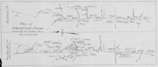 Maps of Mansfield Center according to Zalmon Storrs. | by uconnlibrariesmagic