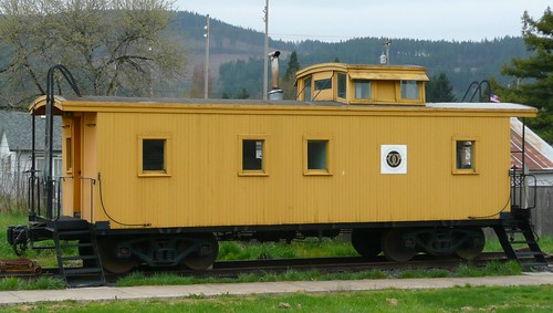 Wooden Caboose | by J.P. EVERETT