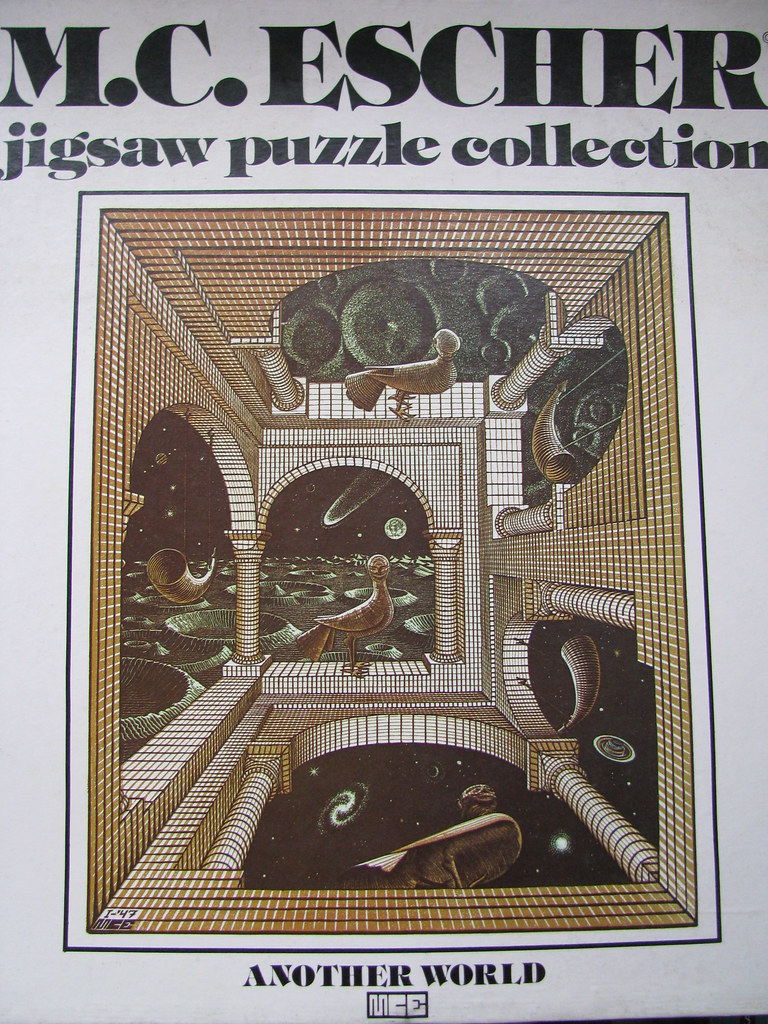 c69eddfa1f ... Array - vintage mc escher u0027another world u0027 jigsaw pieces  buppins flickr rh flickr com