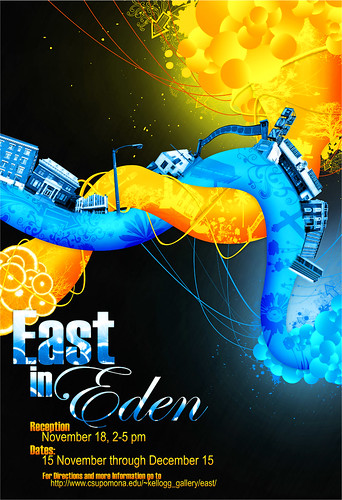 East in Eden, poster | by Sansquare Design Studio