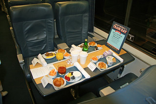 Amtrak Acela First Class Breakfast | by jpmueller99