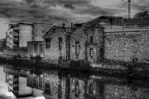 HDR OLD BUILDING..first bw hdr | by Martin J Murphy Photography