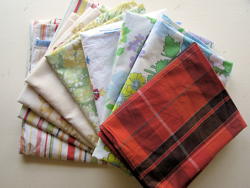 Nine remaining pillowcases out of 12 | by lisaclarke
