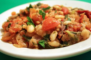 Stewed White Beans | by veganjay92