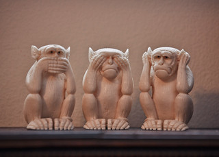 Speak No Evil, See No Evil, Hear No Evil | by Alicakes*
