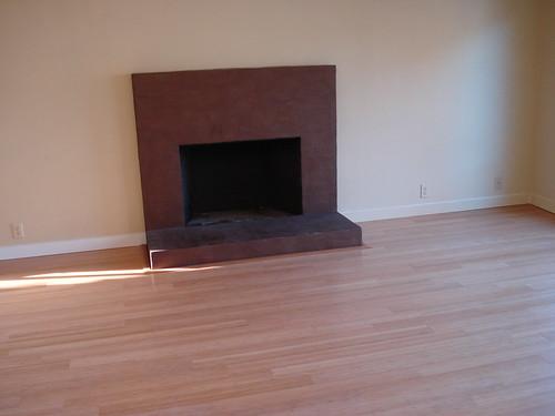 Bamboo Floor Living Room