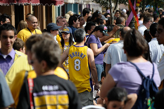 Disneyland Hosts Victory Parade for Los Angeles Lakers | by Denise Cross Photography