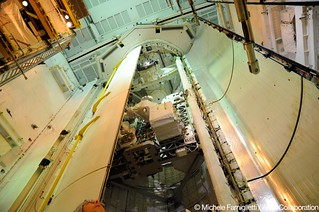 09 Shuttle doors closing - Photo Credit: Michele Famiglietti AMS-02 Collaboration | by ams02web