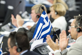 Plenary debate on Greece with PM Alexis Tsipras | by European Parliament