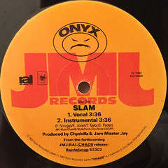 ONYX:SLAM(LABEL SIDE-A)