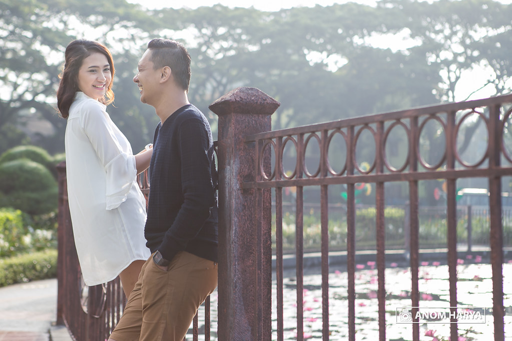 Street Prewedding in Tugu