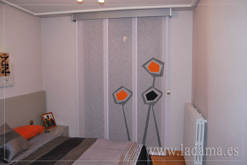 Cortinas dormitorio moderno panel japones laventadecolor for Panel japones moderno
