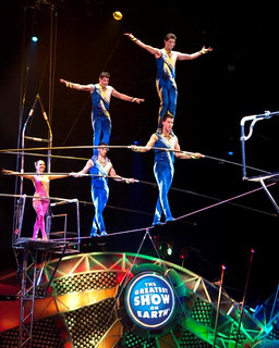 CIRCUS Danguir Troupe balancing on shoulders full group | by lemusingsofmoi
