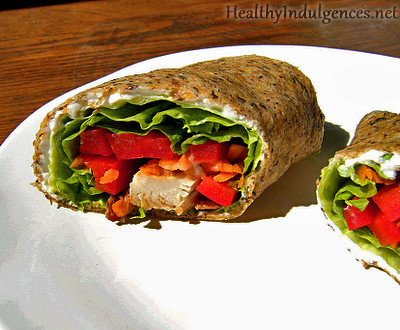 Gluten-Free, Low Carb Wraps | by HealthyIndulgencesBlog