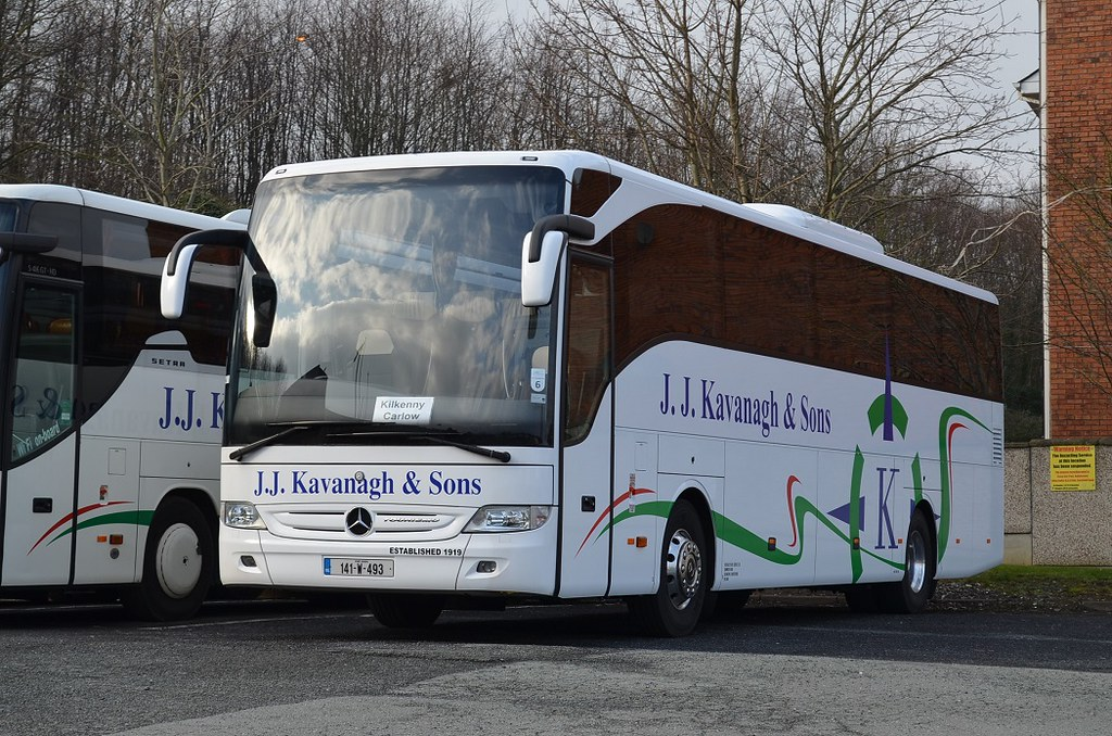 Image result for jj kavanagh coach company