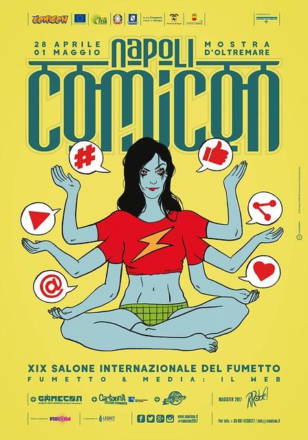 Napoli Comicon 2017 - il Manifesto di Recchioni