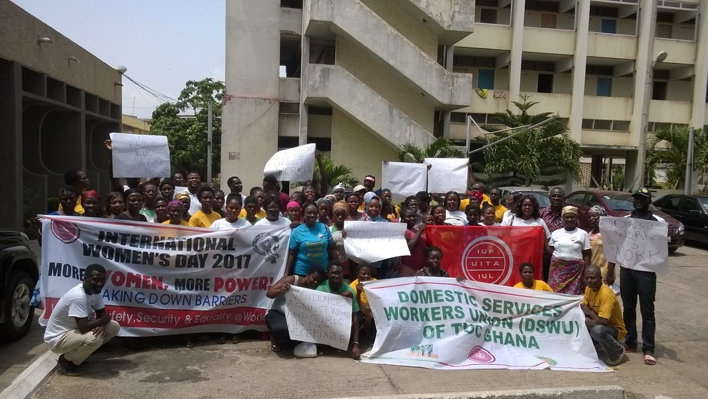 2017-3-9 Ghana: Ratify ILO C189 to give more power to domestic workers