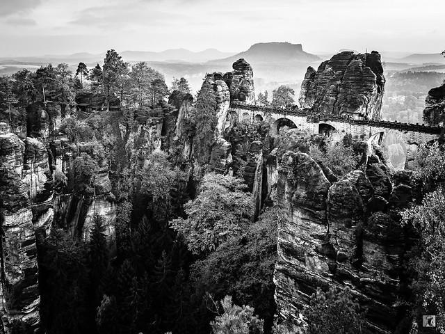 Basteibrücke - Elbsandsteingebirge