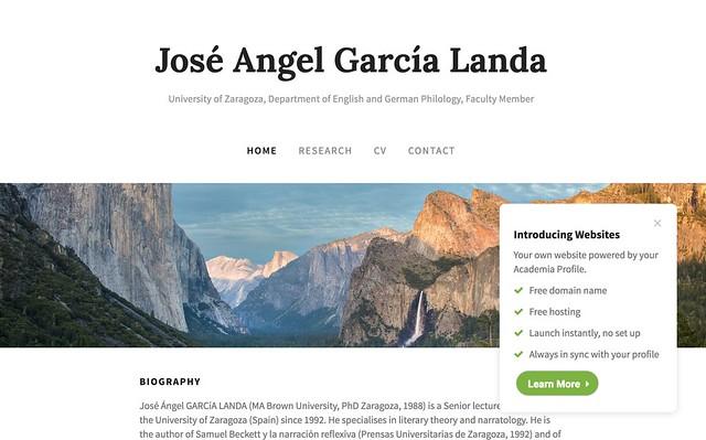Academia Website