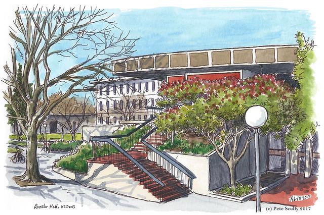 Roessler Hall UC Davis