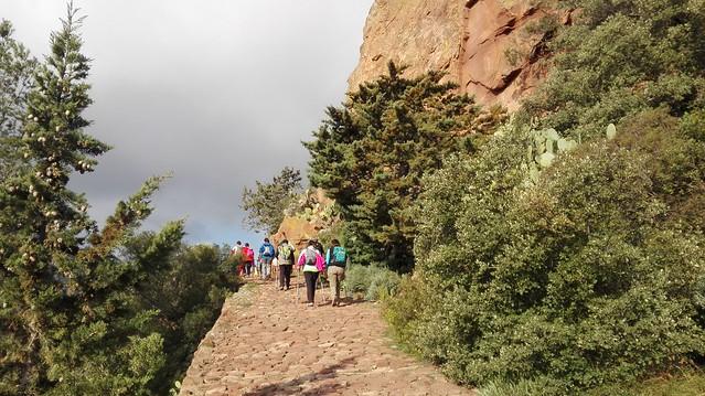 2017-02-26 Ruta de l'Ermita de la Verge de la Roca