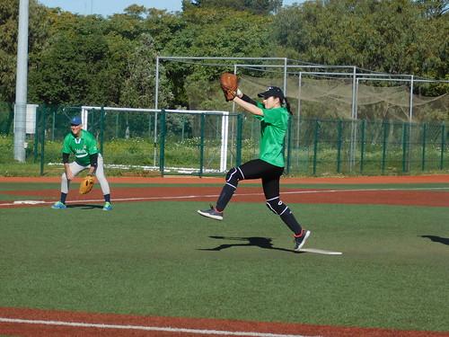 Sóftbol Dos Hermanas segunda jornada de liga mixta andaluza