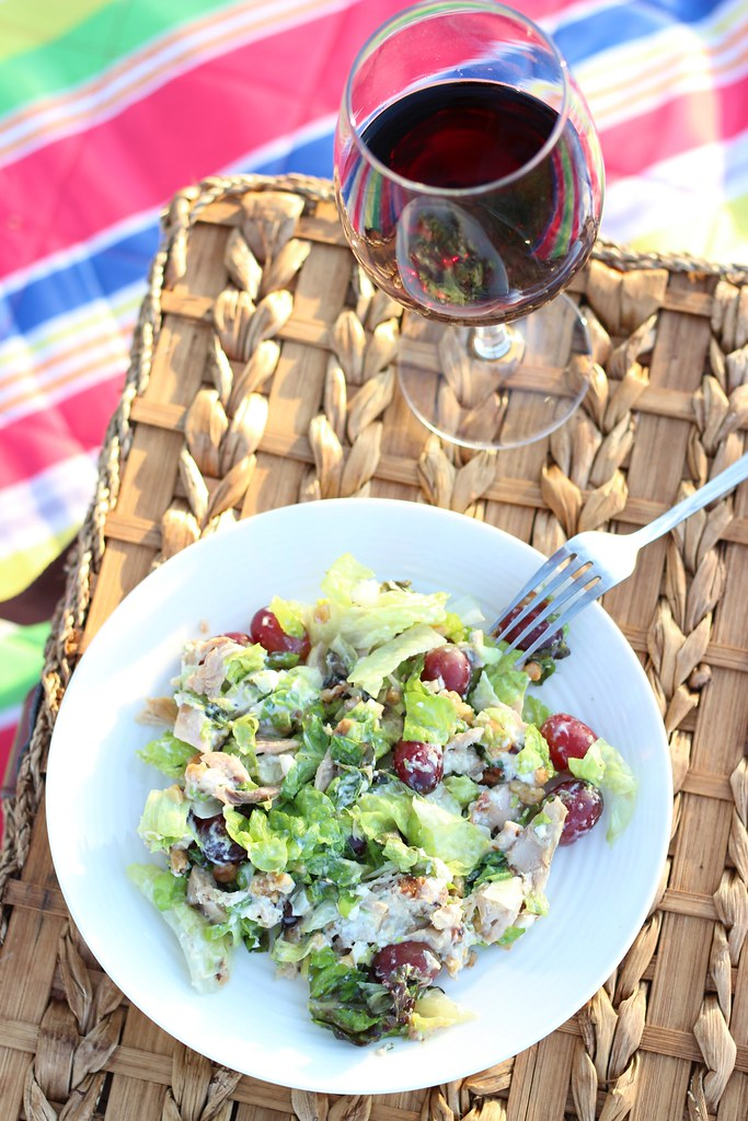 Delicious Chicken Salad For International Picnic Day #GroceryOutlet