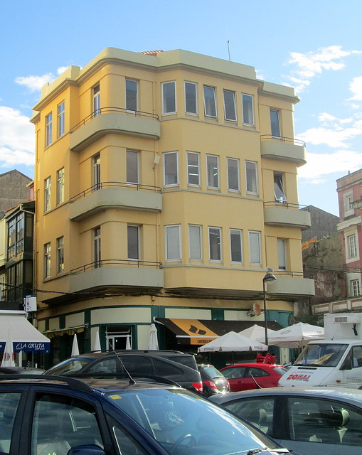 Art Deco Building in Ferrol