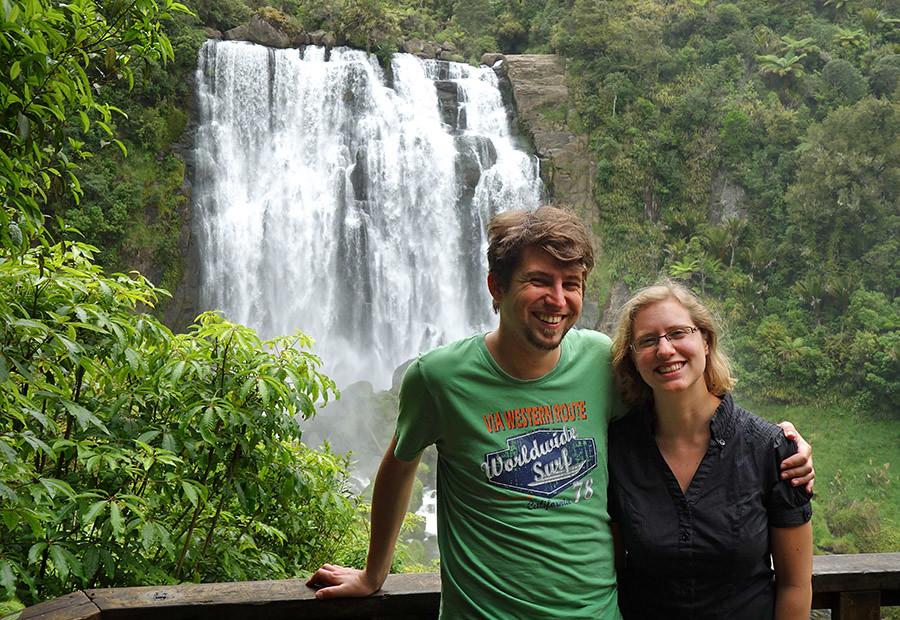 Isabel und Benedikt leben in Neuseeland