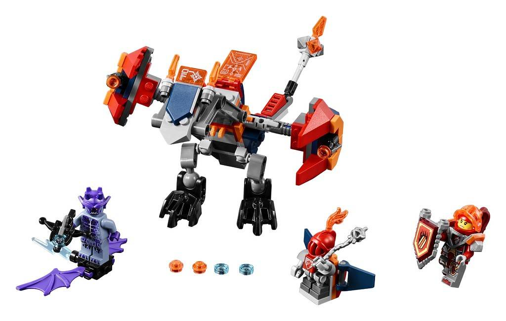LEGO Nexo Knights 70361 - Macy's Bot Drop Dragon