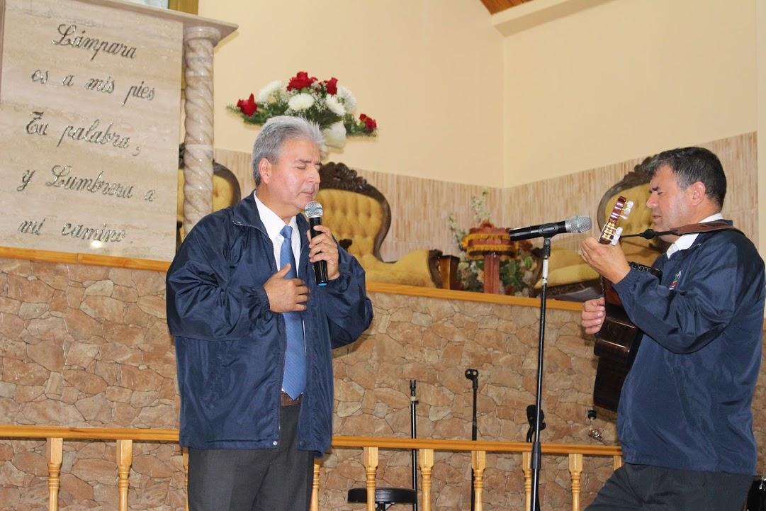 Ciclistas evangelizando en Lirquén
