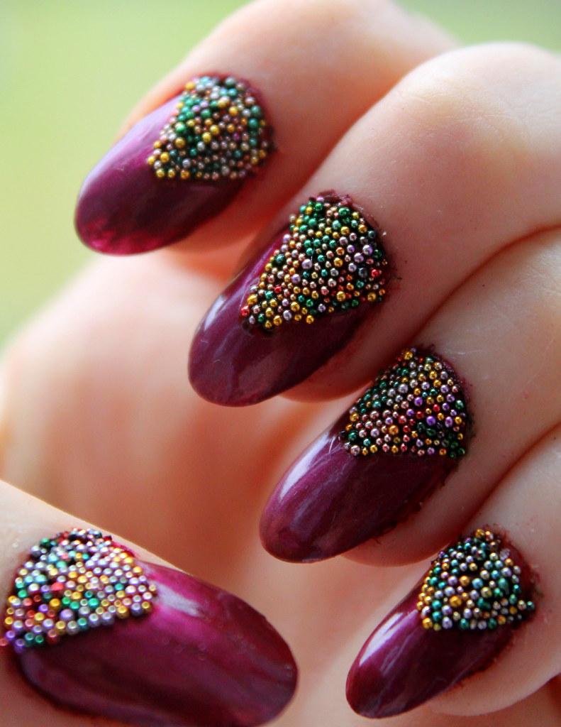 Caviar Nail Art 4 Laura Hyatt Flickr