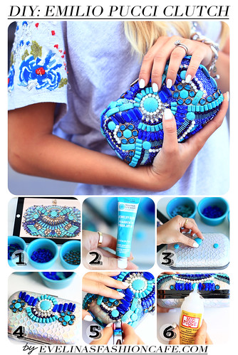 DIY CLUTCH | by evelinabarry