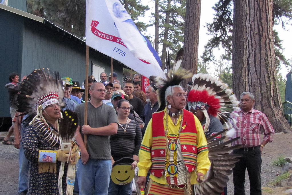 8 24 13 Veterans Camp Chaparral Held On Yakama Indian