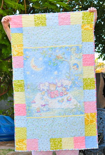 Baby Quilt | by Mama Mel Loves