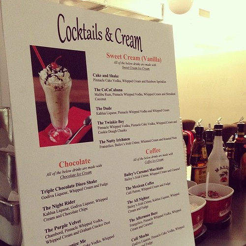 And for special hack day dessert...COCKTAILS & CREAM! #knewton | by knewton_inc