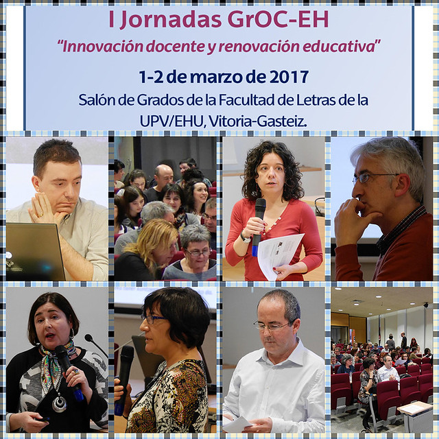 I Jornadas GrOC-EH Innovación docente y renovación educativa