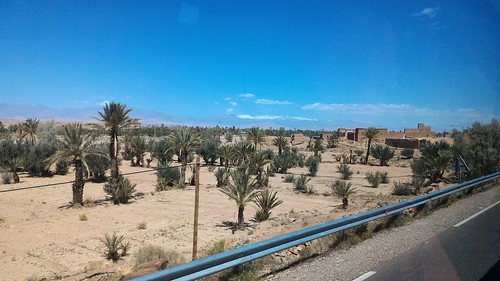 On the road from Ouarzazate to Tinghir, Morocco