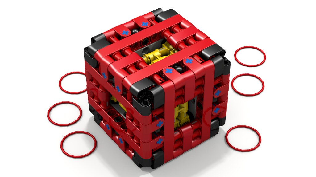 Lego Technic Puzzle Box By Aeh5040 Cube As Shown On His Flickr