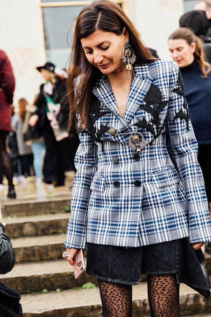 Paris fashion week street style outfit inspiration accessories fashion trend style8