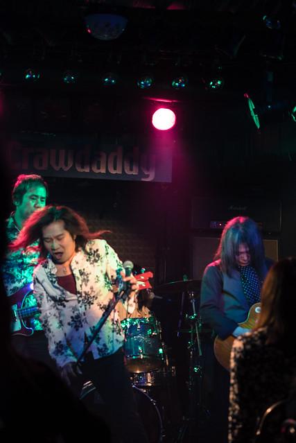 Molten Gold live at Crawdaddy Club, Tokyo, 12 Mar 2017 -00022