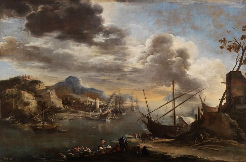 Salvator Rosa - Marina (1638)