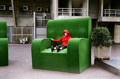 midget in green chair | by Siv Nilsen ... : big green chair - Cheerinfomania.Com