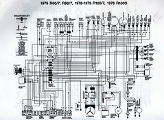 9185247752_4a100d2d6e_m 1978 bmw r80 7 wiring diagram scanned from a workshop manu flickr bmw r80 wiring diagram at suagrazia.org