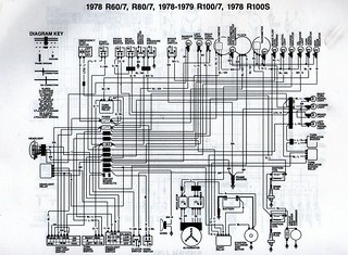 bmw r80 wiring diagram 1978    bmw       r80    7    wiring       diagram    scanned from a workshop  1978    bmw       r80    7    wiring       diagram    scanned from a workshop