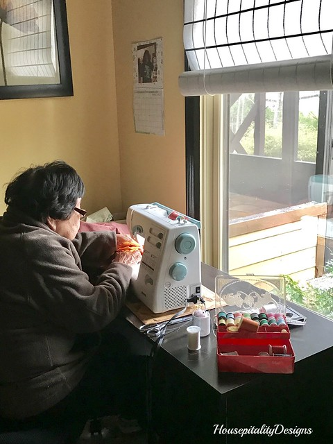Mom's Sewing Area-Housepitality Designs