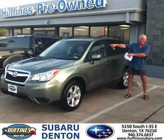 Thank You To Steven James On The 2014 Subaru Forester From