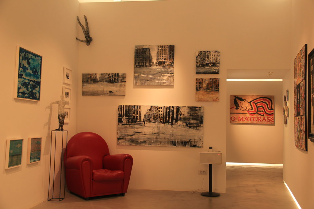 Art gallery, Montalcino